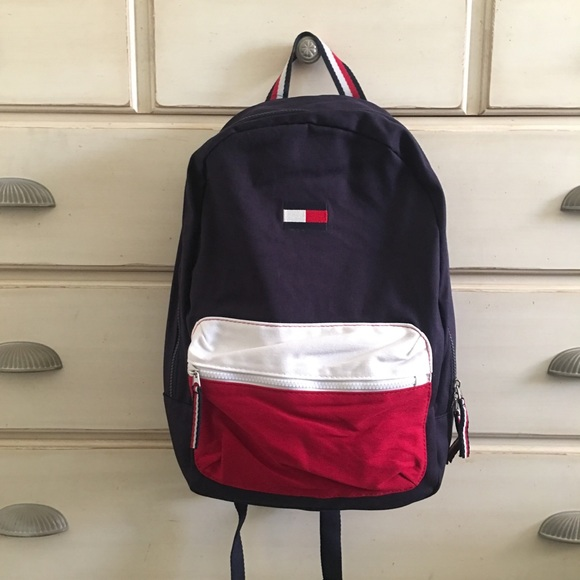 548910219f4 Tommy Hilfiger Bags | Denim Backpack | Poshmark